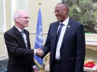 Qaramada Midoobay Oo Ku Soo Biirtay Wadahadalada Somaliland Iyo Somaliya + [ Sawiro ]