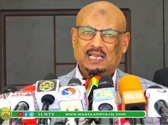 Gudoomiye Faysal Cali Waraabe Oo Fariin Udiray Baanka Aduunka Iyo Bulshada Somaliland Kana Dareen Celiyay Diidmadii Golaha Wakiilada  + Muuqaal
