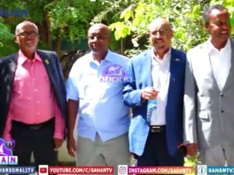 Deg+Deg:- Kulan Dhexmaray Madaxweyne Kuxigeenka Somaliland Iyo Xisbiyada Dalka