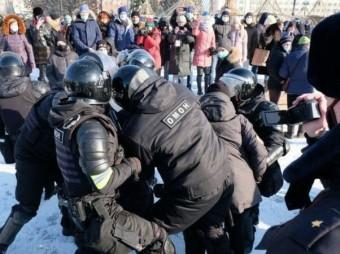 Dibadbaxyo Lagu Taageerayo Alexei Navalny Oo Ka Socda Dalka Ruushka