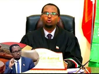 Gudoomiyaha Maxkamada Sare Ee Somaliland Oo Kahadlay Dacwadaha Sanadkii 2020 Soo Galay