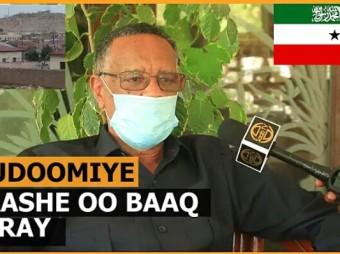 Gudoomiyaha Golaha Wakiilada Somaliland Oo Baaq Diray