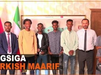 Dugsiga Turkish Macaarif Foundation Oo Shaaciyay Arday Dugsigaasi Waxka Baratay Oo Deeq Waxbarasho Kahelay Dalka Turkiga + Muuqaal