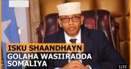 Magacaabis Iyo Isku Bedel Lagu Sameeyay Golaha Wasiirada Xukuumada Somalia+ Muuqaal