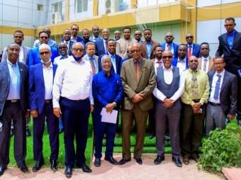 Madaxweynaha Jamhuuriyadda Somaliland Oo Qaabilay Xildhibaannadii Golaha Wakiillada Uga Soo Baxay Xisbiga Kulmiye + Muuqaal/Sawiro